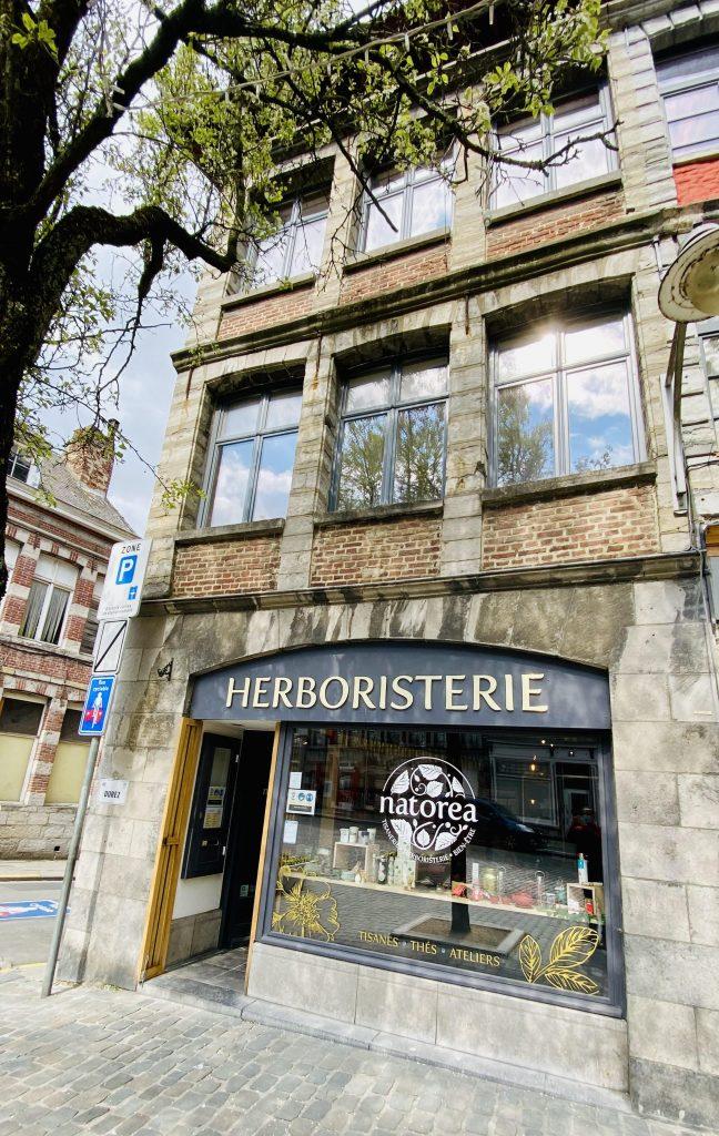 une Herboristerie et un magasin de thés magique à Tournai